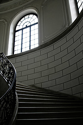 Noble staircase - p476m1132563 by Ilona Wellmann
