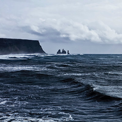 Stormy sea - p916m1532044 by the Glint