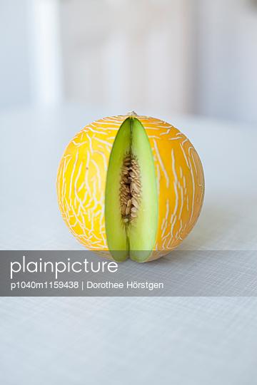 Honigmelone - p1040m1159438 von Dorothee Hörstgen