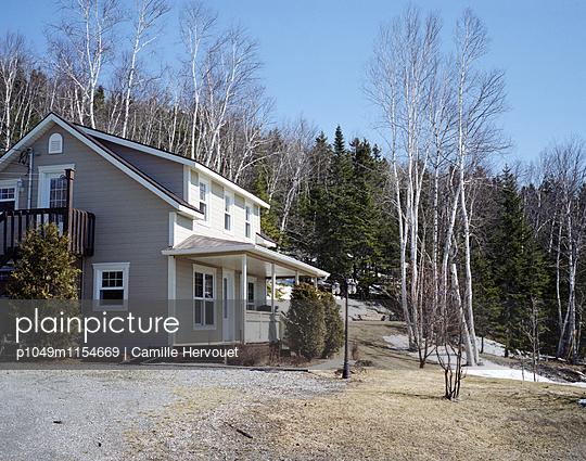 Holzhaus in Gaspé - p1049m1154669 von Camille Hervouet