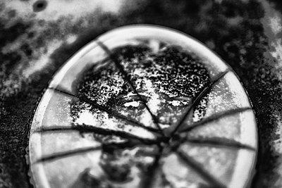 Broken medallion - p1601m2173199 by Isabelle Scotta