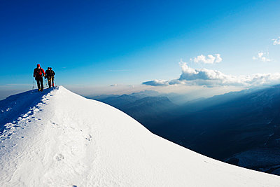 Gouter Ridge on Mont Blanc - p652m807664 by Christian Kober