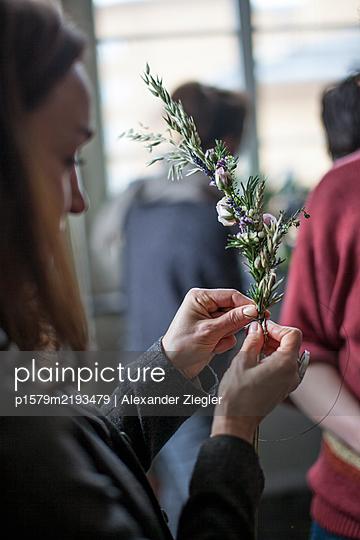 Binding flowers - p1579m2193479 by Alexander Ziegler