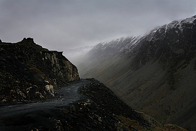 Misty mountain - p9240075 by Image Source