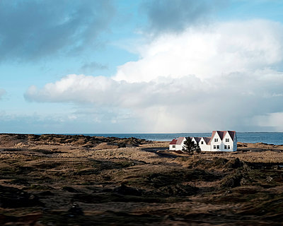 House by the sea  - p1105m1222075 by Virginie Plauchut