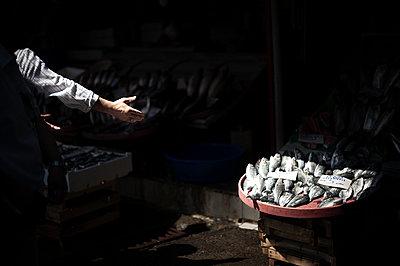 Fish market - p1007m959870 by Tilby Vattard