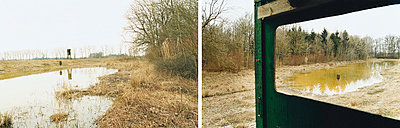 Landschaft - p1205m1020941 von Annet van der Voort