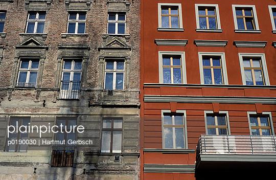 Reihenhaus - p0190030 von Hartmut Gerbsch