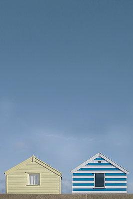 Beach Huts - p1323m1182045 by Sarah Toure