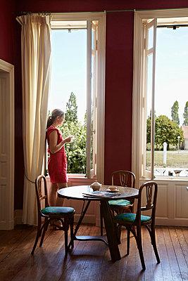 Breakfast room - p349m787017 by Alun Callender