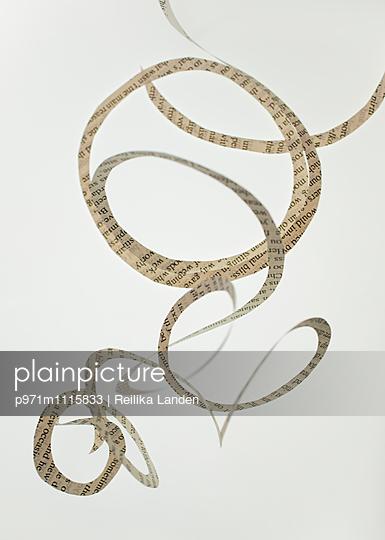 Paper swirl - p971m1115833 by Reilika Landen