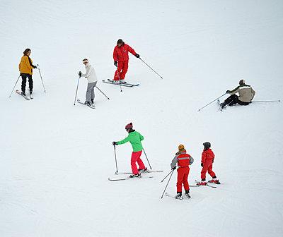 Ski fahren - p829m715938 von Régis Domergue