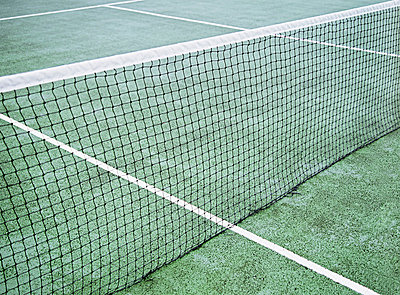 Tennis court - p92410088f by Image Source
