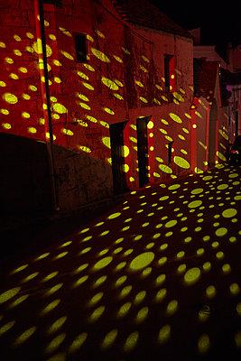 Light installation, Alberobello - p1010m2277849 by timokerber