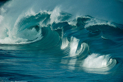 Breaking waves - p8844219 by Bob Barbour