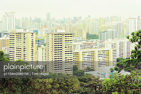 Asia, Singapore, Cityscape - p1154m2289166 by Tom Hogan