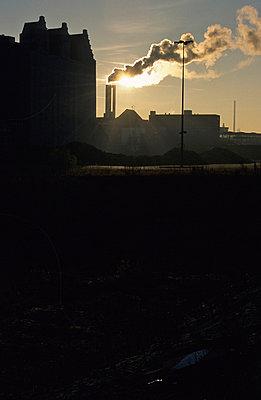 Sonnenuntergang in Hamburg - p1160280 von Gianna Schade