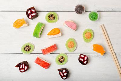 Süßes Sushi  - p451m1559072 von Anja Weber-Decker