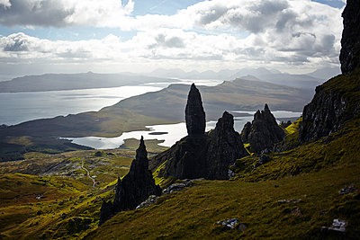 Old Man of Storr - p1145m1590886 von Kerstin Lakeberg