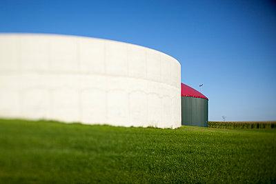 Biogasanlage - p902m1065135 von Mölleken