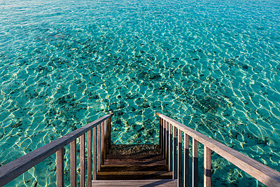 View of Maldive Islands - p300m827023f by Martin Moxter