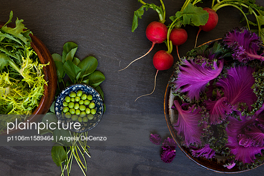 Gesundes Gemüse - p1106m1589464 von Angela DeCenzo