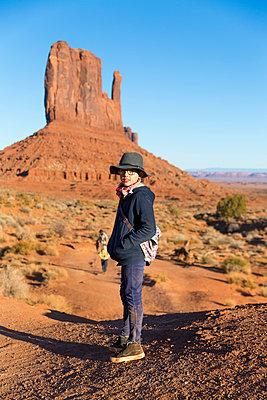Ausflug, Monument Valley - p756m2087329 von Bénédicte Lassalle