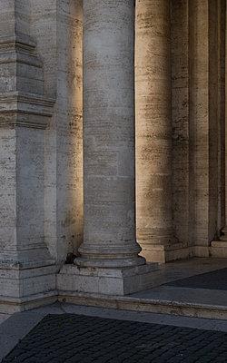 Italy, Rome, Columns - p1624m2222643 by Gabriela Torres Ruiz