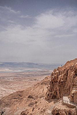 Historische Festung Masada - p741m929360 von Christof Mattes