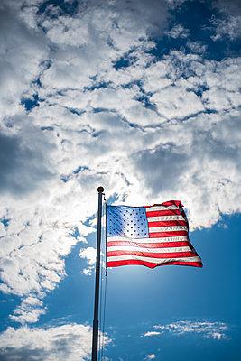 Amerikanische Flagge - p954m1171339 von Heidi Mayer
