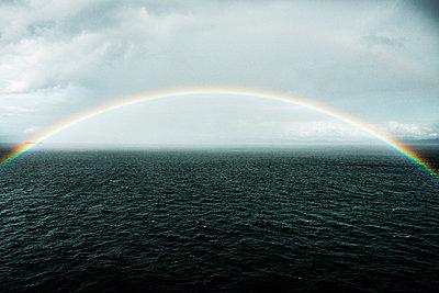 Regenbogen; Alaska - p1086m853685 von Carrie Marie Burr