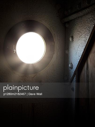 Ship porthole - p1280m2182467 by Dave Wall