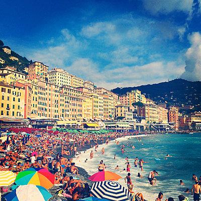 Italy, Liguria, Riviera di Levante, Camogli - p300m1009912 by Gaby Wojciech