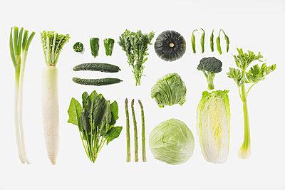 Arrangement Of Various Vegetables  - p307m711854f by AFLO