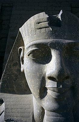 Ramses II sculpture in Luxor Temple. - p8550272 by Marcel Malherbe