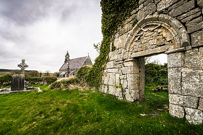 Ruin of a church - p1234m1050284 by mathias janke