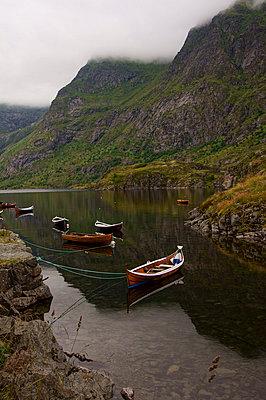 Vertaute Boote - p1620067 von Beate Bussenius