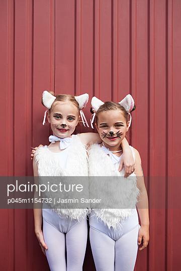 Zwei Kätzchen sind dicke Freundinnen - p045m1154732 von Jasmin Sander