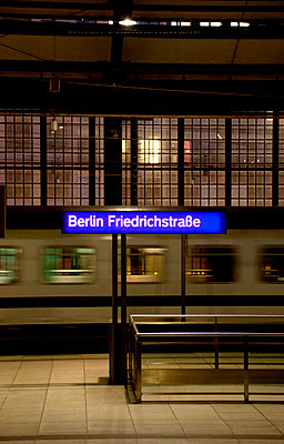 Station, Berlin - p382m1017387 by Anna Matzen