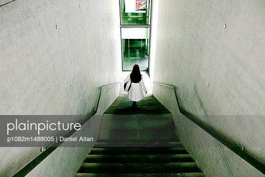 Walking Down stairs - p1082m1488005 by Daniel Allan