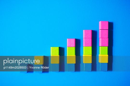 Toy blocks - p1149m2028503 by Yvonne Röder
