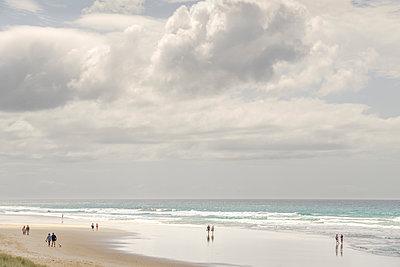 Strandspaziergang - p1275m2032143 von cgimanufaktur