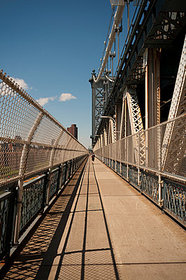 Manhattan Bridge - p470m1152804 von Ingrid Michel