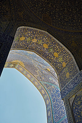 Königsmoschee Isfahan - p1146m1445007 von Stephanie Uhlenbrock