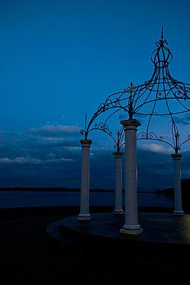 Pavillion at lakeshore - p533m955743 by Böhm Monika
