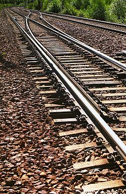 Schienen - p1418m1571314 von Jan Håkan Dahlström