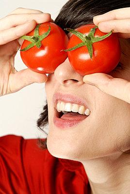Tomaten auf den Augen - p5200049 von Jasmin Noé