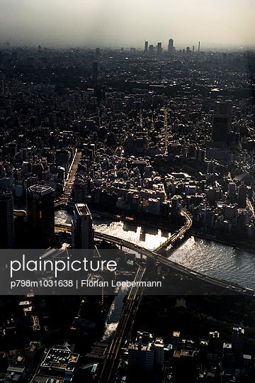 Tokio Skyline - p798m1031638 von Florian Löbermann