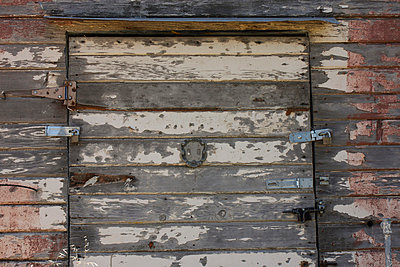 Weathered door - p5780034 by Genie C Balantac