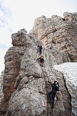Bergsteigen - p7410015 von Christof Mattes